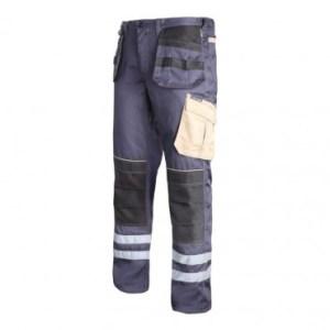pantalon gros reflectorizant bumbac