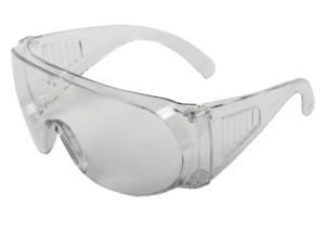 ochelari protectie cu brate si vizor antisoc