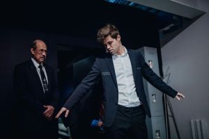 Fouille de Magnus Carlsen