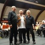De gauche à droite : Henri Laborde, Patrick Porretti et Christian Gondot