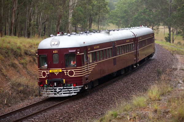 A rail motor like the one being renovated by North Byron Beach Resort owners to run a shuttle into Byron Bay. Photo supplied