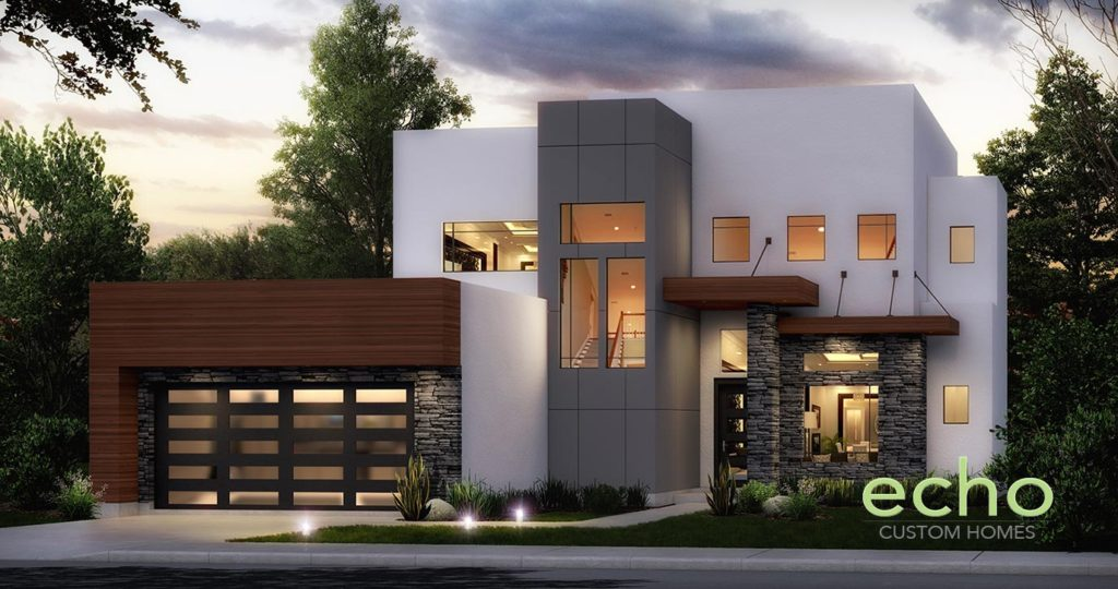 Contemporary and Modern Home in Houston Texas  Oak Forest