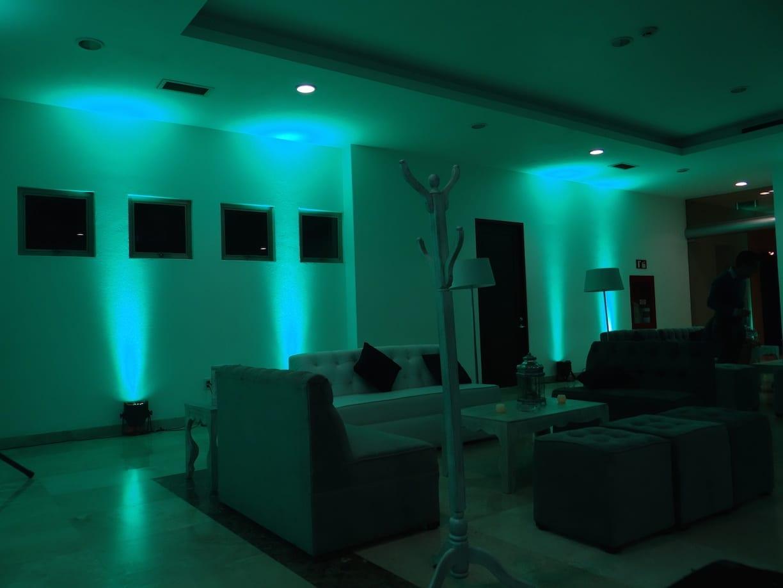 Iluminacin Ambiental para tu Fiesta
