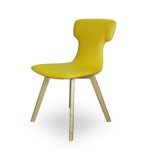 modern leather dining chairs australia aztec rebar chair with cushion brisbane benji yellow