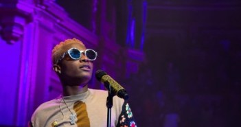 Wizkid perform at London's Royal Albert's Hall