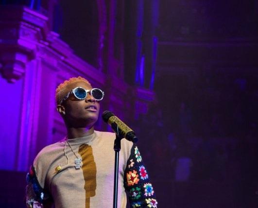 Wizkid perform at London's Royal Albert's Hall