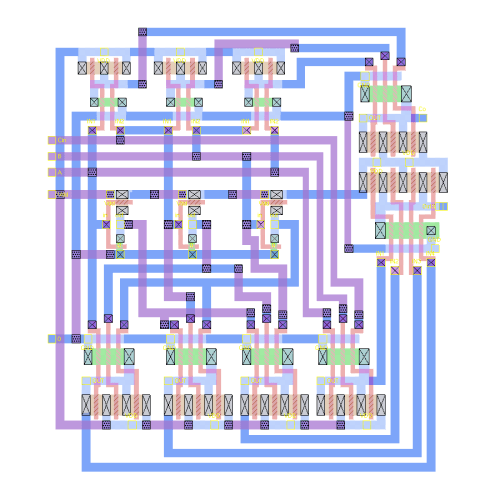 small resolution of ic design of a 4 bit multiplier