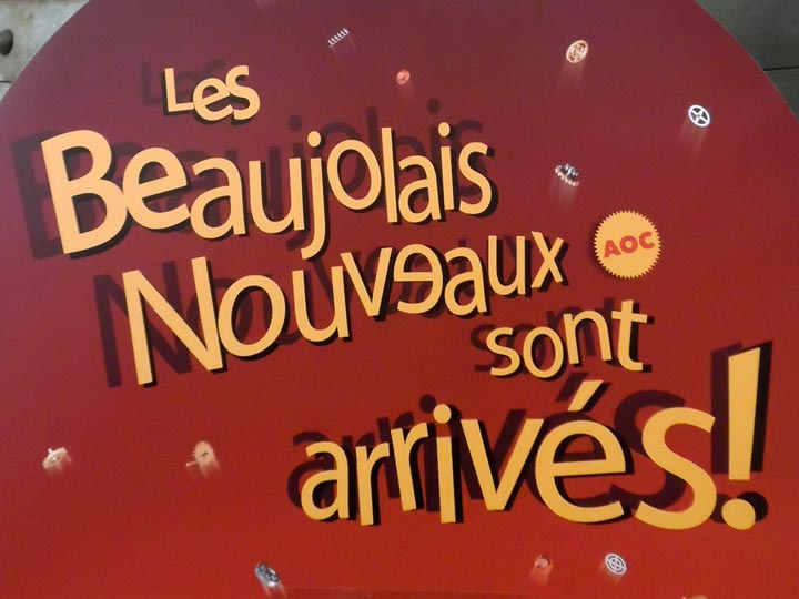 Le beaujolais nouveau est bio !