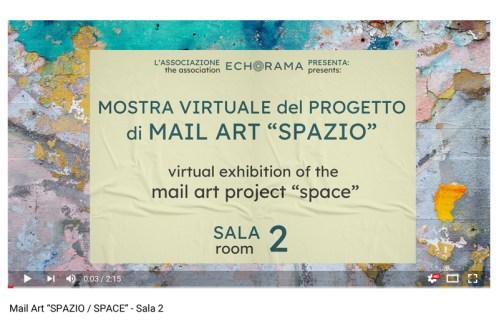 Video esposizione virtuale Mail Art Spazio - Sala 2