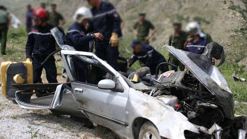 Accidents de la circulation: 43 décès et 1612 blessés en une semaine