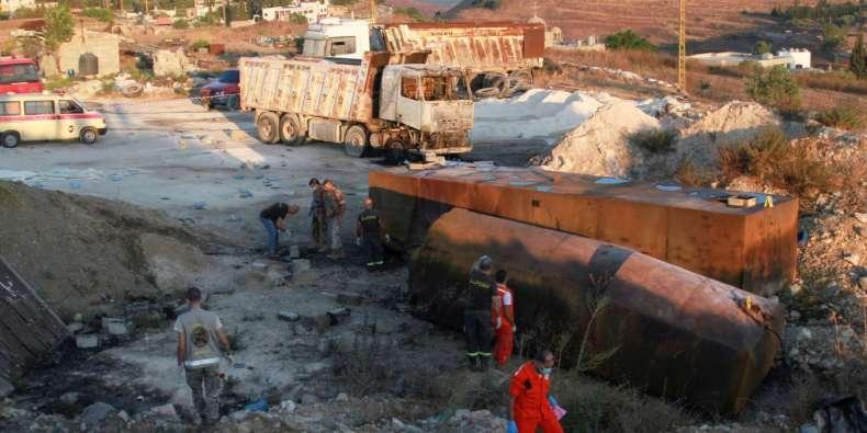 Au moins 20 morts dans l'explosion d'un camion-citerne au Liban, l'armée dans les stations-service