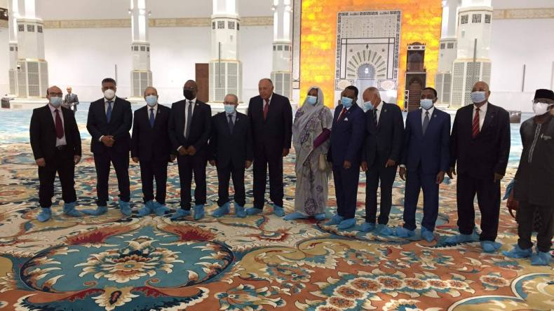 """Les MAE des pays voisins de la Libye visitent """"Djamaa El Djazaïr"""""""