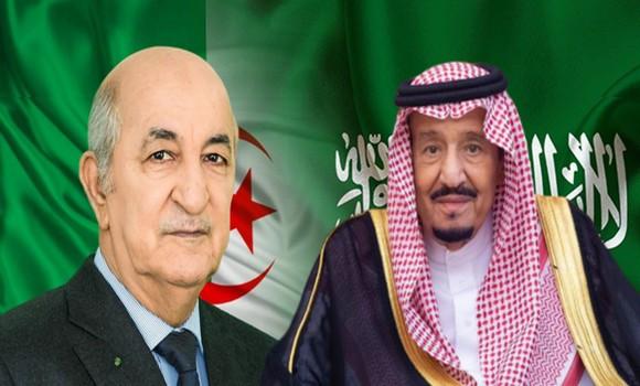 Le Président Tebboune reçoit un appel téléphonique du roi Salmane Ben Abdelaziz