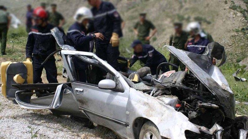 Accidents de la route: 32 morts et 1451 blessés en une semaine