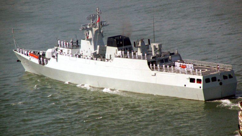 L'Algérie commande six navires de guerre a la Chine