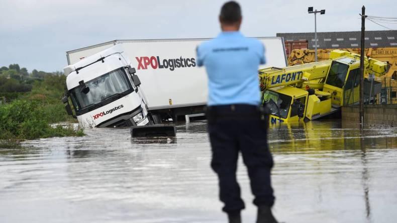 Pluies record et violents orages: La France noyée
