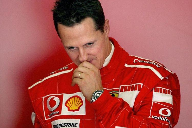 La femme de Michael Schumacher s'exprime sur l'état de santé de son mari