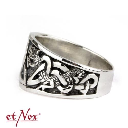 etNox  Silberring Keltische Knoten  Knoten  Keltische Symbole  magic and mystic  etNox