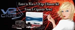 E-Cigarette News V2Cigs Ultimate Kit Giveaway