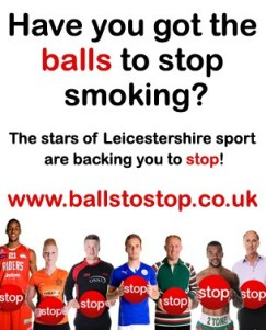 Balls To Stop Smoking Campaign