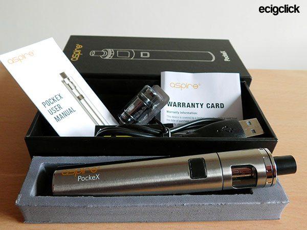 Aspire Pockex Kit Contents