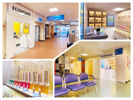vape shops in uk hospitals