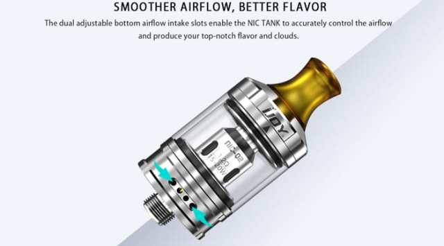 ijoy nic airflow