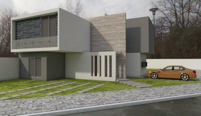 CASA LAS ARDILLAS 3D Model
