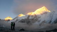 Sonnenuntergang am Everest
