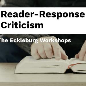 Reader-Response Criticism