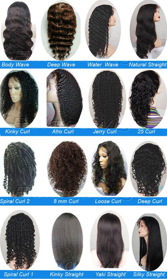 Kinky Straight Full Lace Wigs Human HairWholesale Full