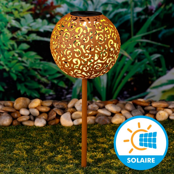 solaire metal vintage diametre 18 cm