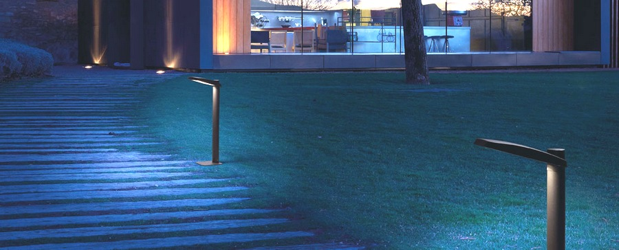 Borne exterieur LED borne lumineuse lampadaire