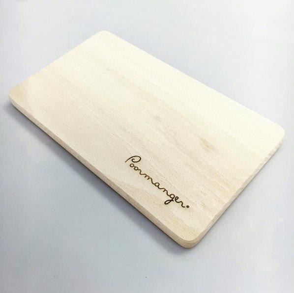 tagliere personalizzato in legno con incisione laser
