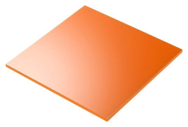 plexiglass arancione