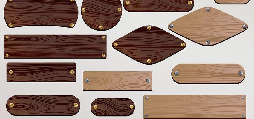 targhette legno personalizzate
