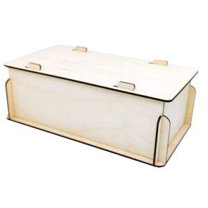 scatola con coperchio a incastro