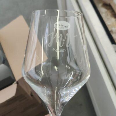 stampa su bicchiere
