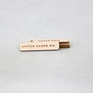 etichette personalizzate legno