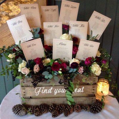 tableau de mariage fiori