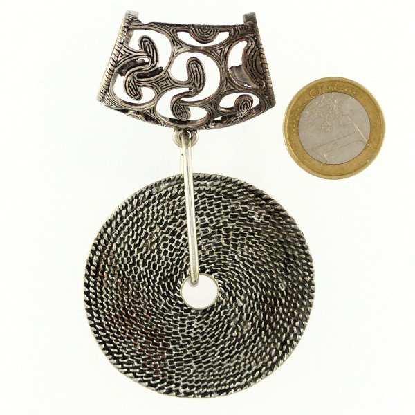 Bijou de foulard Tourbillon
