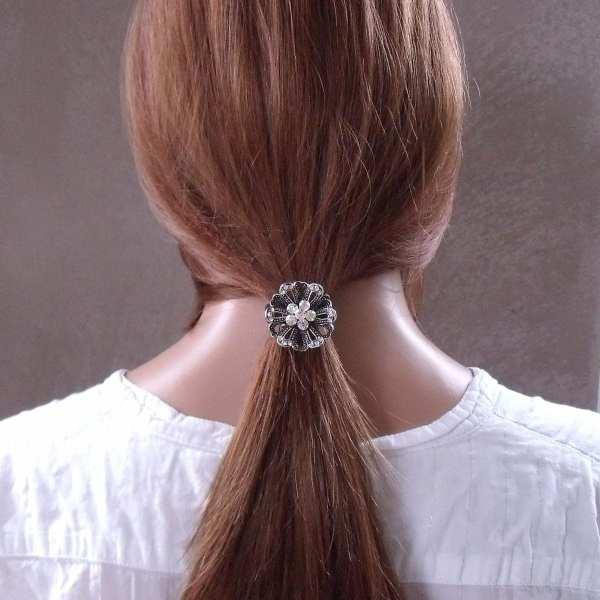 Elastique à cheveux bijou strass Tyli