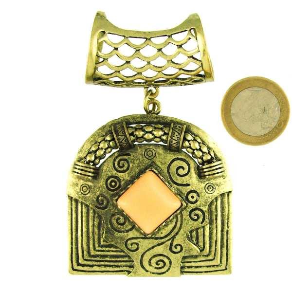 Bijou de foulard Inca