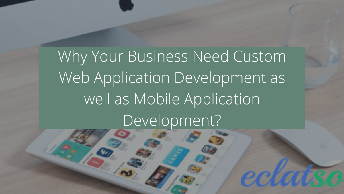 custom web & mobile applications development