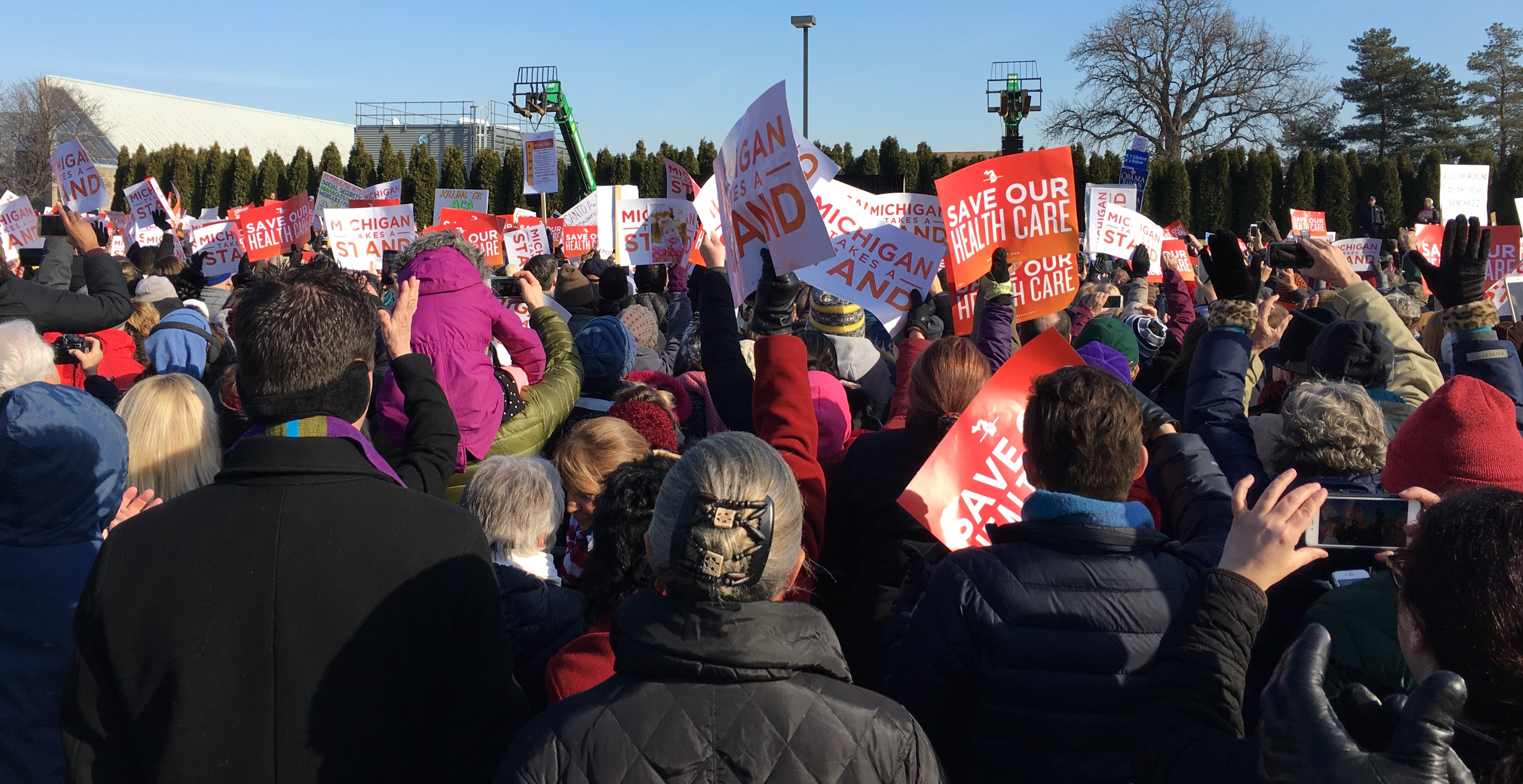 Image result for PHOTOS RALLIES FOR HEALTHCARE