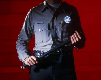Police Officer Carrying Nightstick