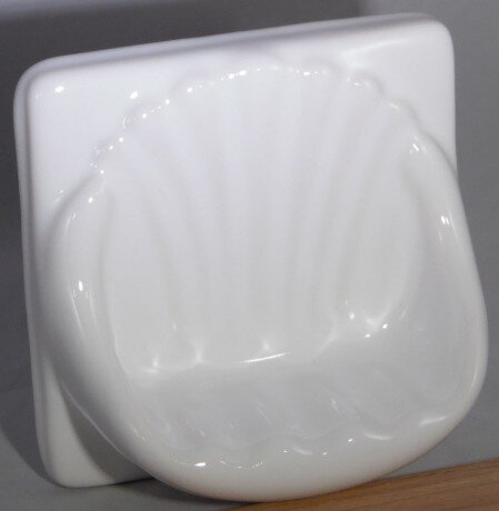 ceramic soap dish for your shower or