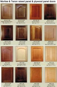 Raised Panel Wood Kitchen Cabinet Doors