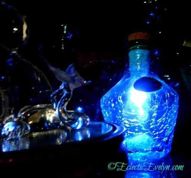 Blue Glow  #WordlessWednesday EclecticEvelyn.com