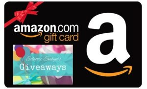 Amazon Gift Card Giveaway EclecticEvelyn.com